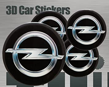 Think Ink 3d Aufkleber 4 Stk Logo Imitation Alle Größen Mittelkappen Radkappen 50 Mm