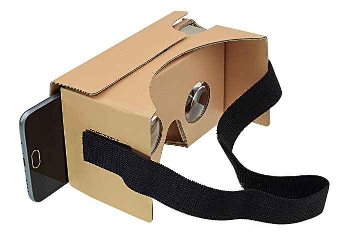 Amazon sharkk google cardboard vr goggles 3d virtual reality sharkk google cardboard vr goggles 3d virtual reality glasses 2nd generation 1 pack publicscrutiny Image collections