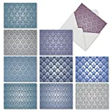 Assortment of 'Royal Pattern' Blank Note