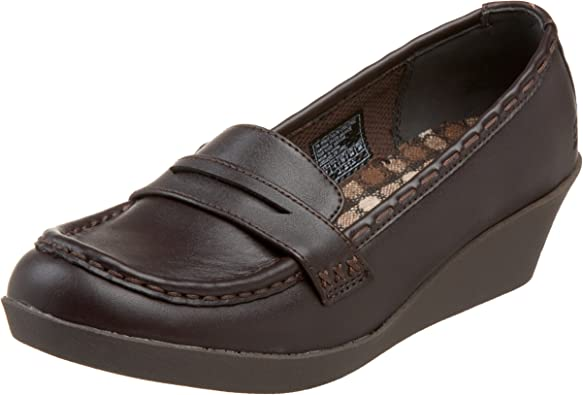 Girl Circa Penny Loafer Wedge