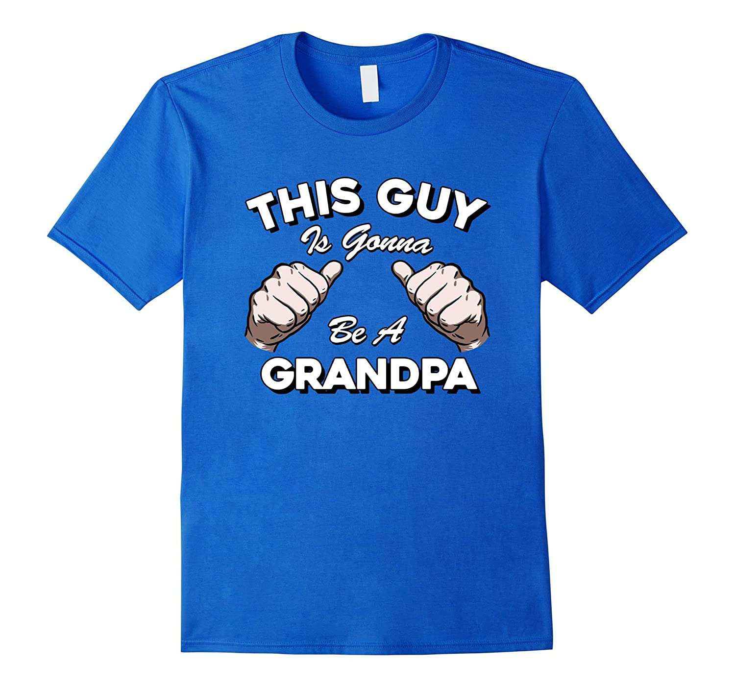 8b30dfd3 Mens This Guy Is Gonna Be A Grandpa Funny New Grandparent T Shirt-anz