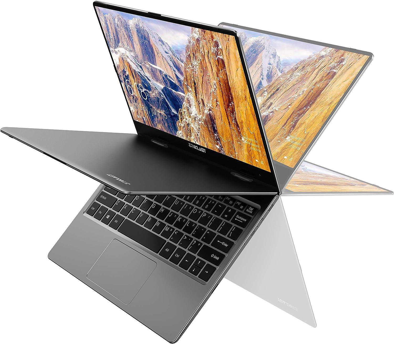 TECLAST Ordenador Portátil F5 con Pantalla Táctil 11.6'' Ultrabook 360° Convertible, 8GB RAM 256GB SSD , 1920x1080 IPS, Intel N4100 Windows 10, WiFi, Bluetooth 4.2, Cuerpo Totalmente Metálico