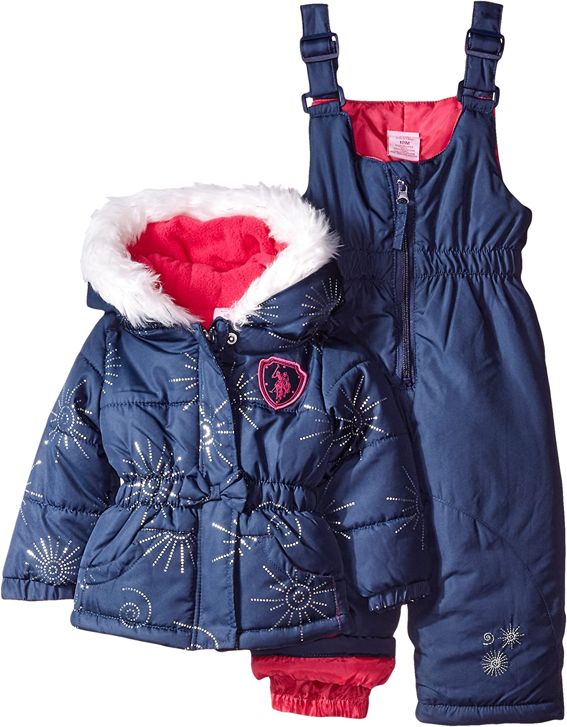 U.S Polo Assn More Styles Available Girls Snow Suit