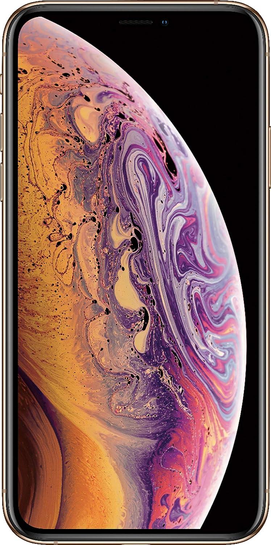 Apple iPhone XS Max, 64GB, Gold - Fully Unlocked (Renewed Premium)