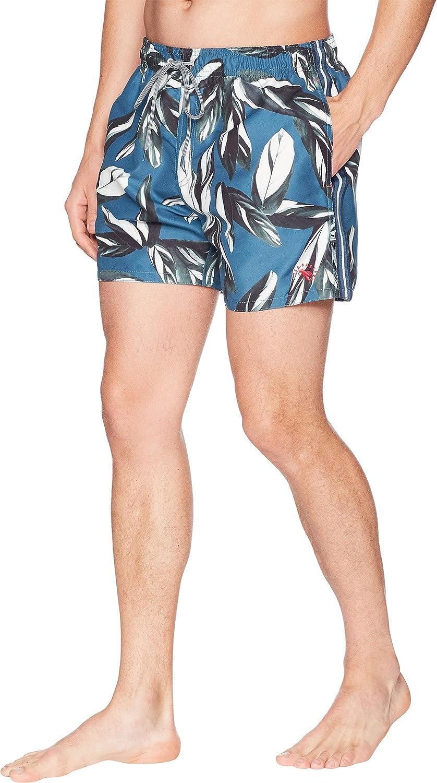 dedd8b89f0 Amazon.com: Ted Baker Men's Bury Printed Swim Trunk: Clothing