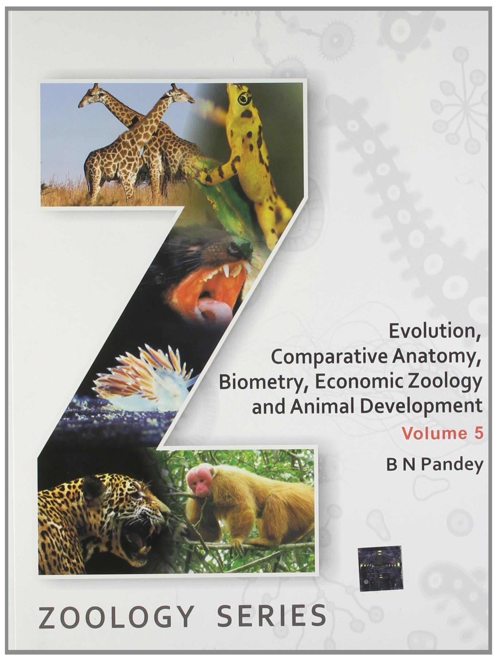Buy Evolution Comparative Anatomy Biometry Economic Zoology And