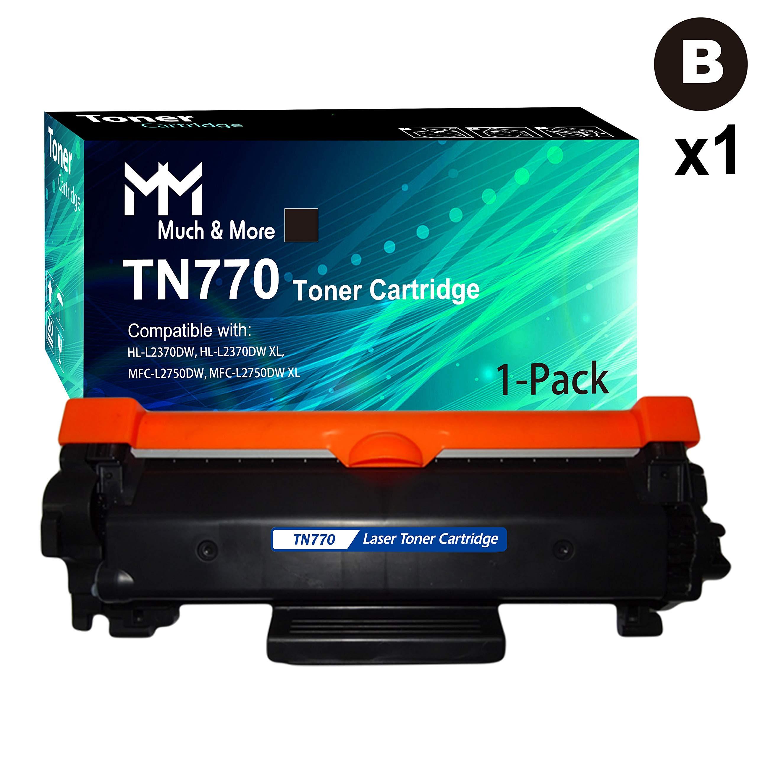 Toner Alternativo ( X1 ) Alta Capacidad Negro TN770 TN-770 HL-L2370DW MFC-L2750DW HL-L2370DWXL MFC-L2750DWXL
