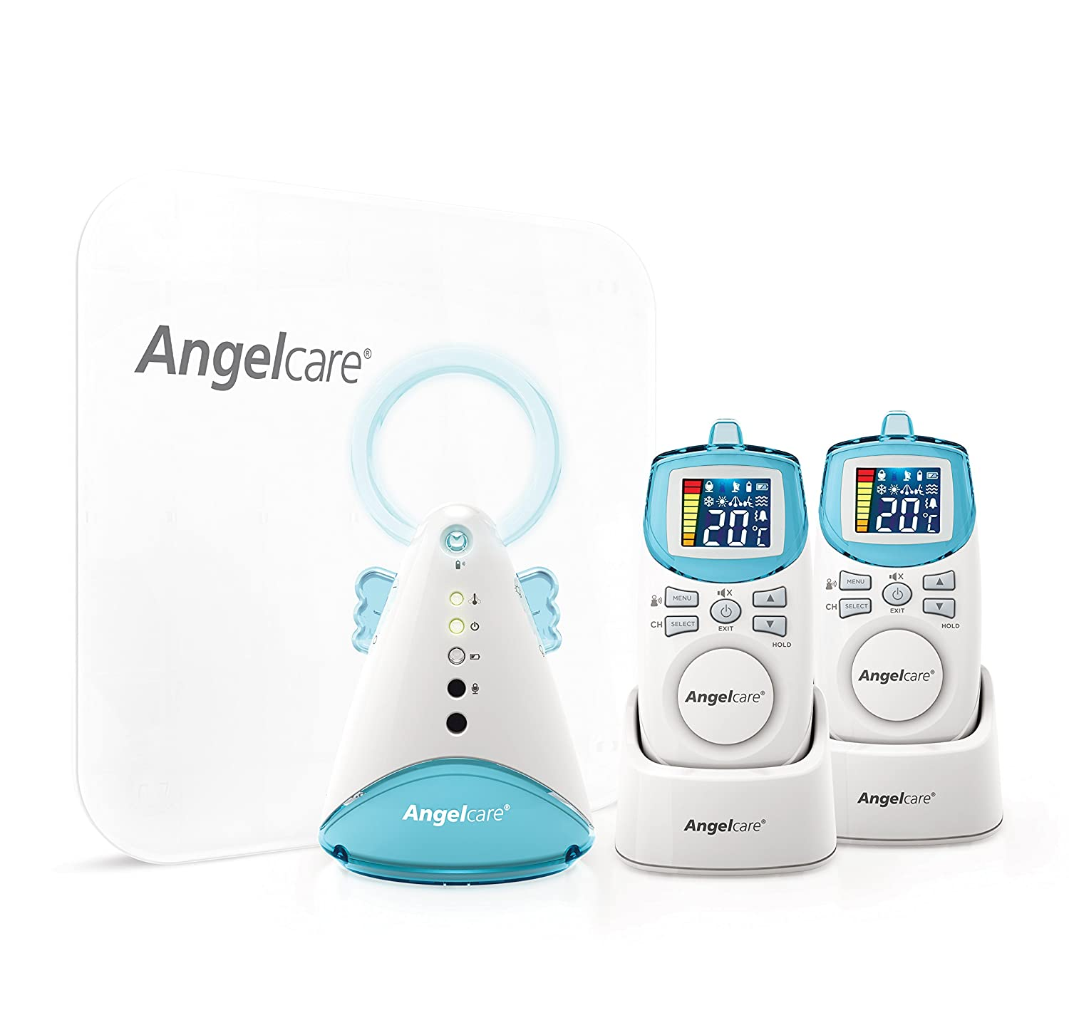 Angelcare AC401 Baby Movement Monitor, with Sound