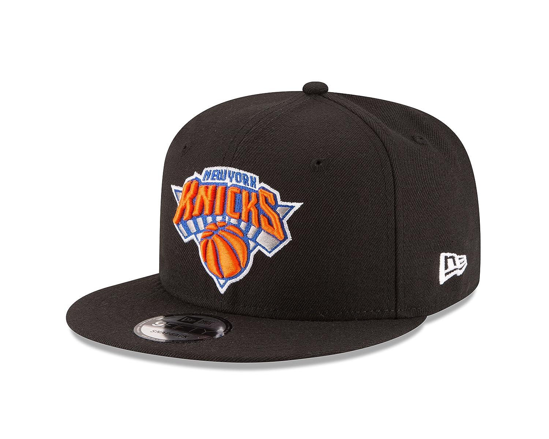 (New York Knicks, One Size, Black) - New Era NBA 9Fifty Team Colour Basic Snapback Cap   B01NANBXRH