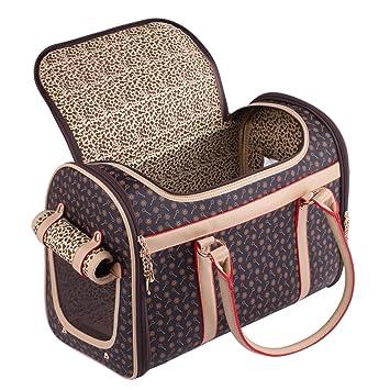 Bolsa de transporte para mascotas, para perro, gato, perro yorkshire, pomerania, chihuahua, bolsa de viaje: Amazon.es: Productos para mascotas