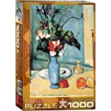 EuroGraphics Blue Vase by Cezanne 1000 Piece Puzzle