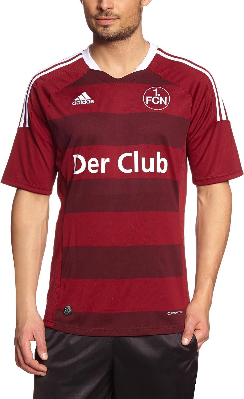 Diminuire drain Ambasciata  adidas, Maglia da Calcio 1.FC Nürnberg (1. FC Norimberga), Uomo, 557799681,  Rosso – Rosso Scuro, S: Amazon.it: Abbigliamento