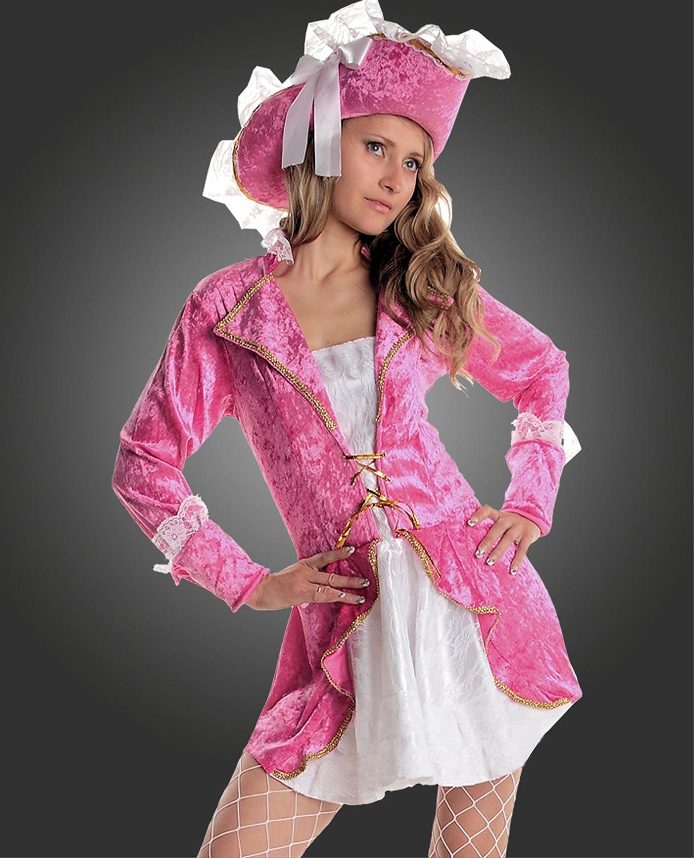 Disfraz de pirata caribe, disfraz de carnaval para mujer, fucsia ...