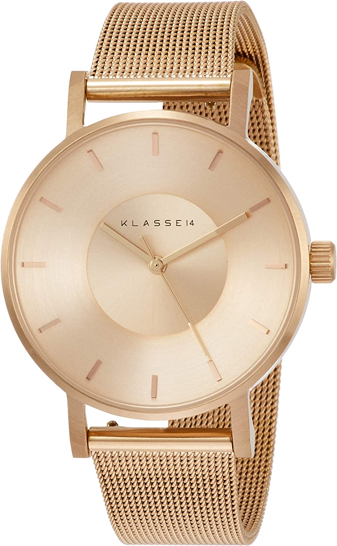[クラスフォーティーン] 腕時計 VOLARE (BASIC) ROSE GOLD 36mm VO14RG003W レディース 正規輸入品 ピンクゴールド