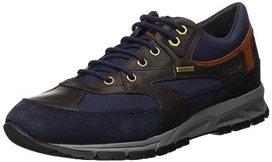 81083b2379 Geox Men's U Delray B ABX B Low-Top Sneakers: Amazon.co.uk: Shoes & Bags