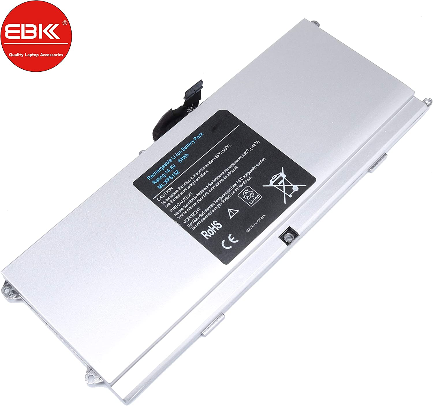 EBKK 0HTR7 NMV5C 075WY2 Battery for DELL XPS 15Z L511Z L511X 【US Ship】