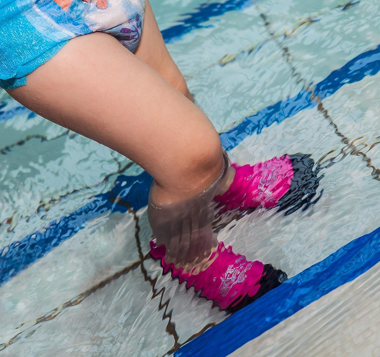 Kinder Rutschfeste Sohle Aqua Speed/® Neo Socks f/ür Kinder 20-29 Neoprensocken Elastisch Leicht