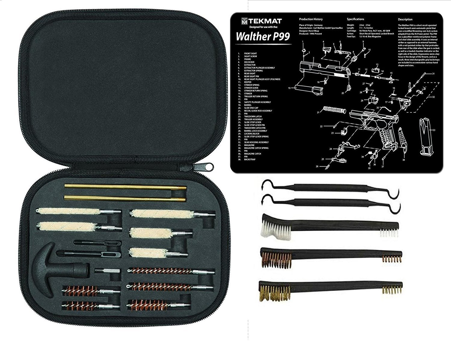 SIS E-Store Walther P99 TekMat with Range Warrior 21 PC