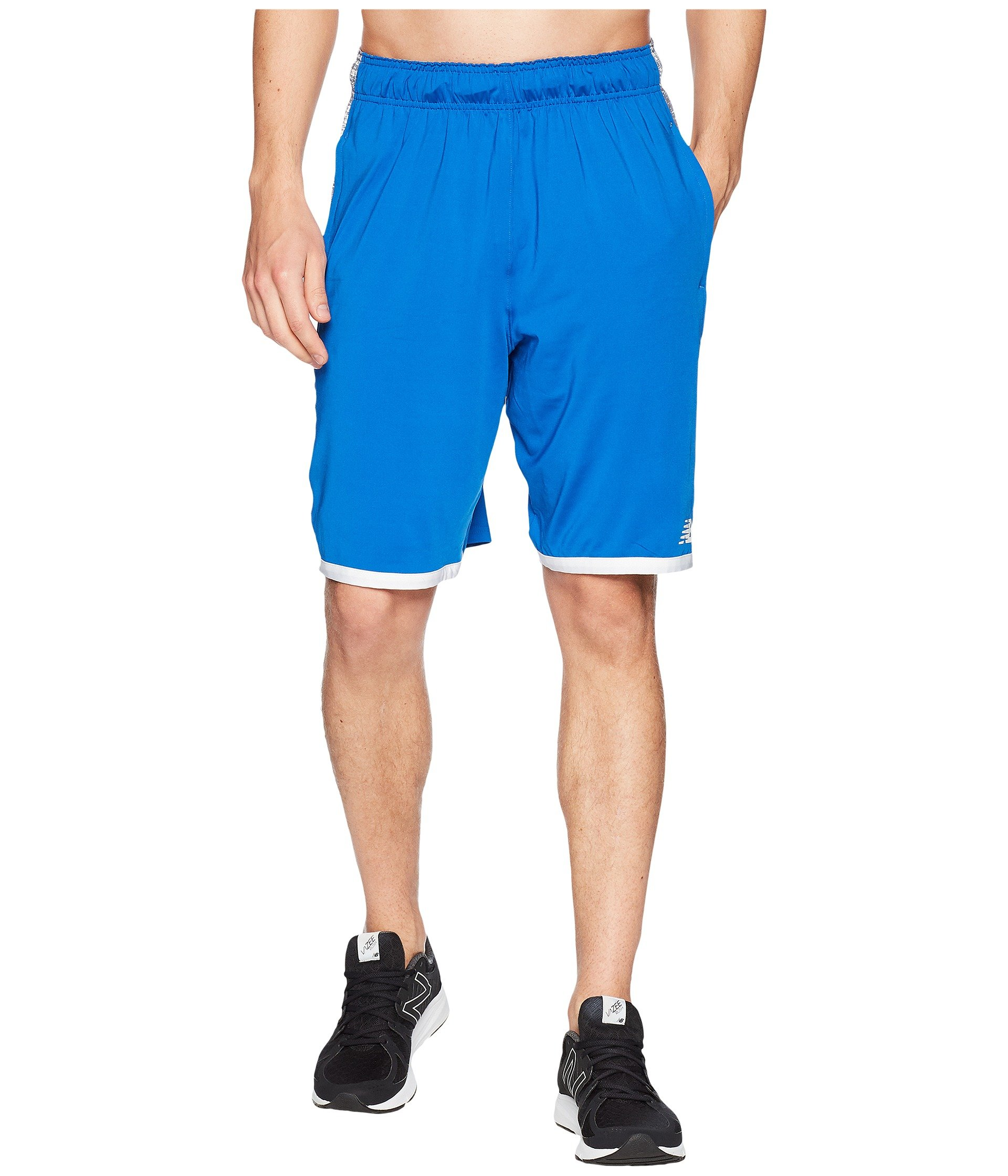 New Balance Men's Baseball Grind Inset Shorts, Team Royal, Small by New Balance
