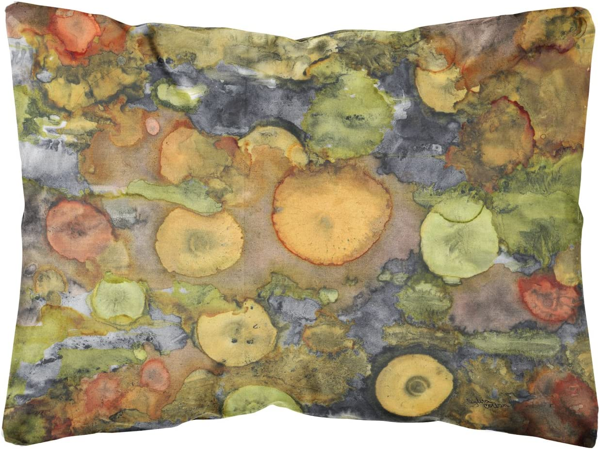 Caroline's Treasures 8966PW1216 Abstract with Mother Earth Fabric Decorative Pillow, 12H x16W, Multicolor