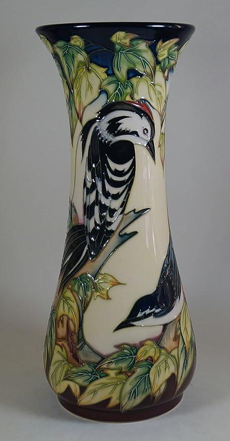 A MOORCROFT Pottery INGLESWOOD Woodpecker & Other Birds 364