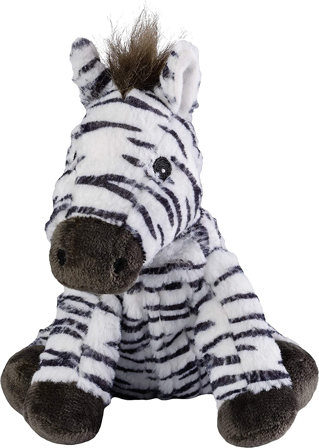 25 cm Warmies/® MINIS Zebra Heat Cushion with Removable Millet Lavender Filling Approx