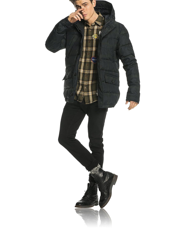 Scotch & Soda Herren Jacke Hooded Down Jacket