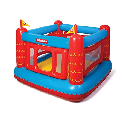 3eba7cb04 Amazon.com  Fisher-Price Bouncetastic Inflatable Bouncer  Toys   Games