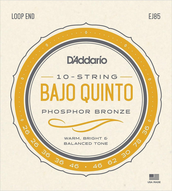 D'Addario EJ85 Bajo Quinto Strings D'Addario &Co. Inc