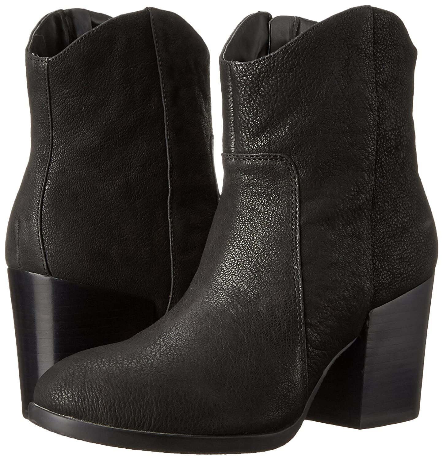 Nine West Women's Rubble Leather Boot B011EHKUHU 8.5 B(M) US|Black