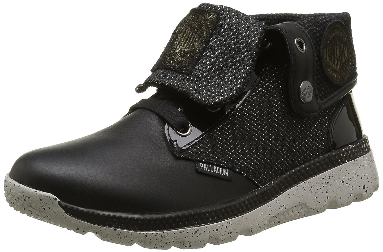 Palladium Plvil BGY Lrx F, Zapatillas Altas para Mujer 40 EU|Negro (315 Black)