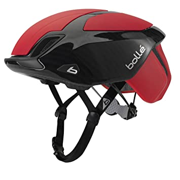 Bollé The One Premium Cascos Ciclismo, Unisex Adulto, Red Carbon, 54-58