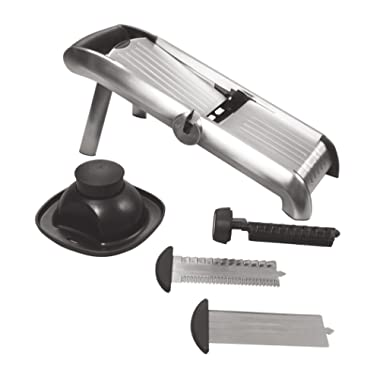 OXO 3105300 Chef's Mandoline Slicer, Stainless Steel