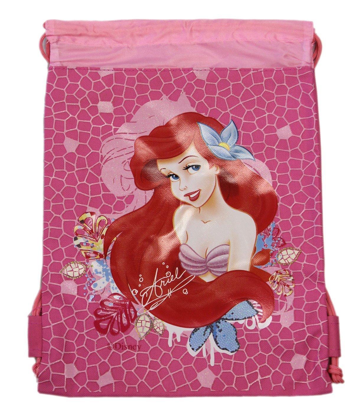 Hot Pink Ariel Drawstring Bag - Kids Drawstring Backpack