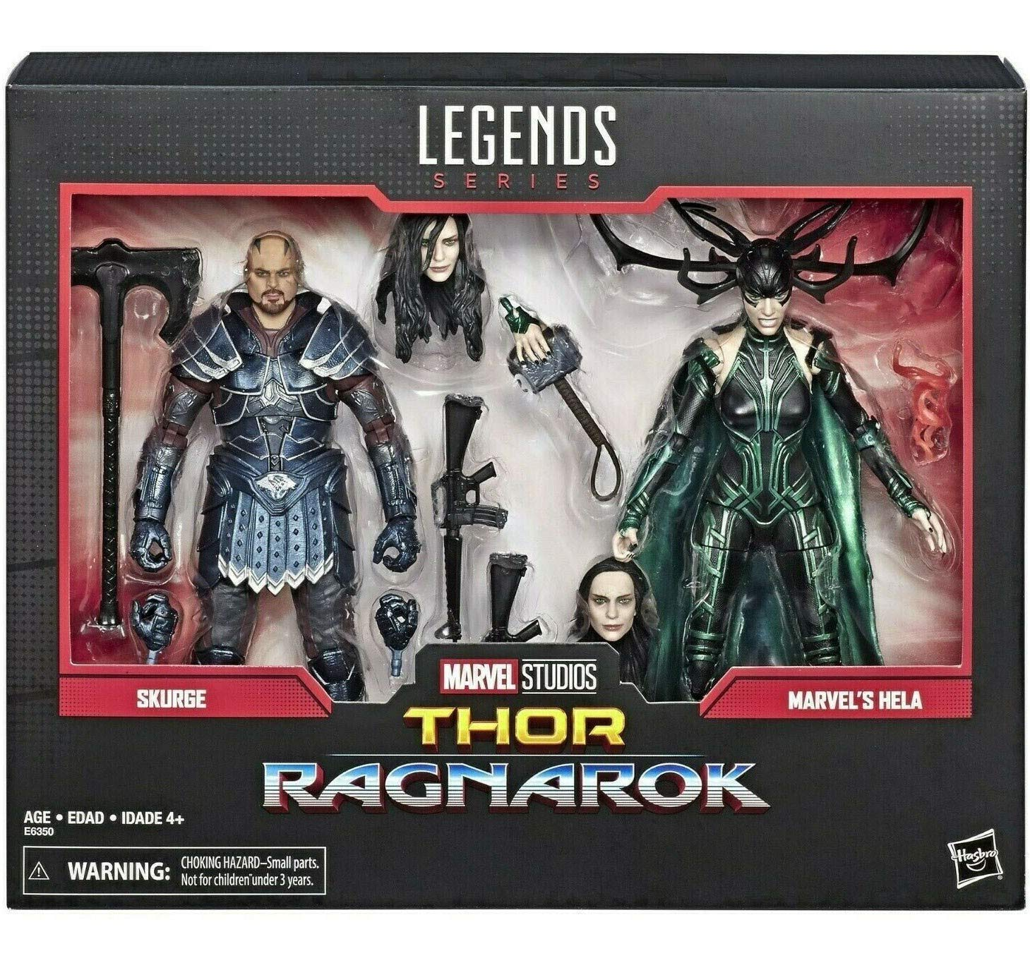 Marvel  Legends 80th Anniversary Thor Ragnarok Skurge & Hela 2-Pack