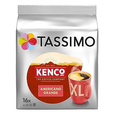 TASSIMO Kenco Cafe Crema 16 T DISCs (Pack of 5, Total 80 T DISCs