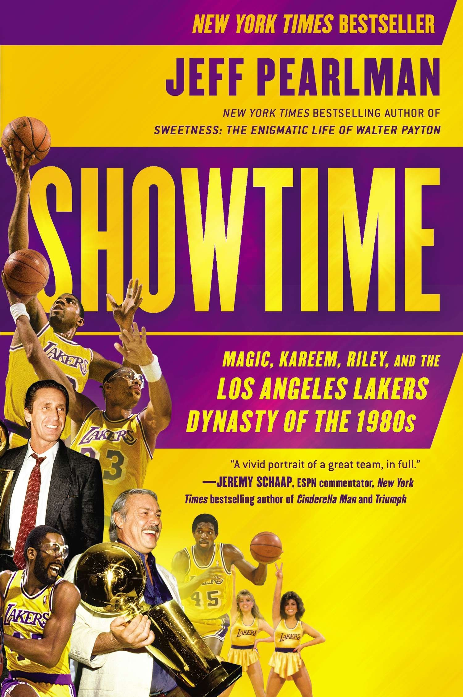 Amazon.com: Showtime: Magic, Kareem, Riley, and the Los Angeles Lakers  Dynasty of the 1980s (9781592408870): Jeff Pearlman: Books