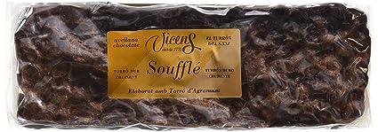 Vicens Turrón Soufflé Duro con Avellana Chocolate - 300 g