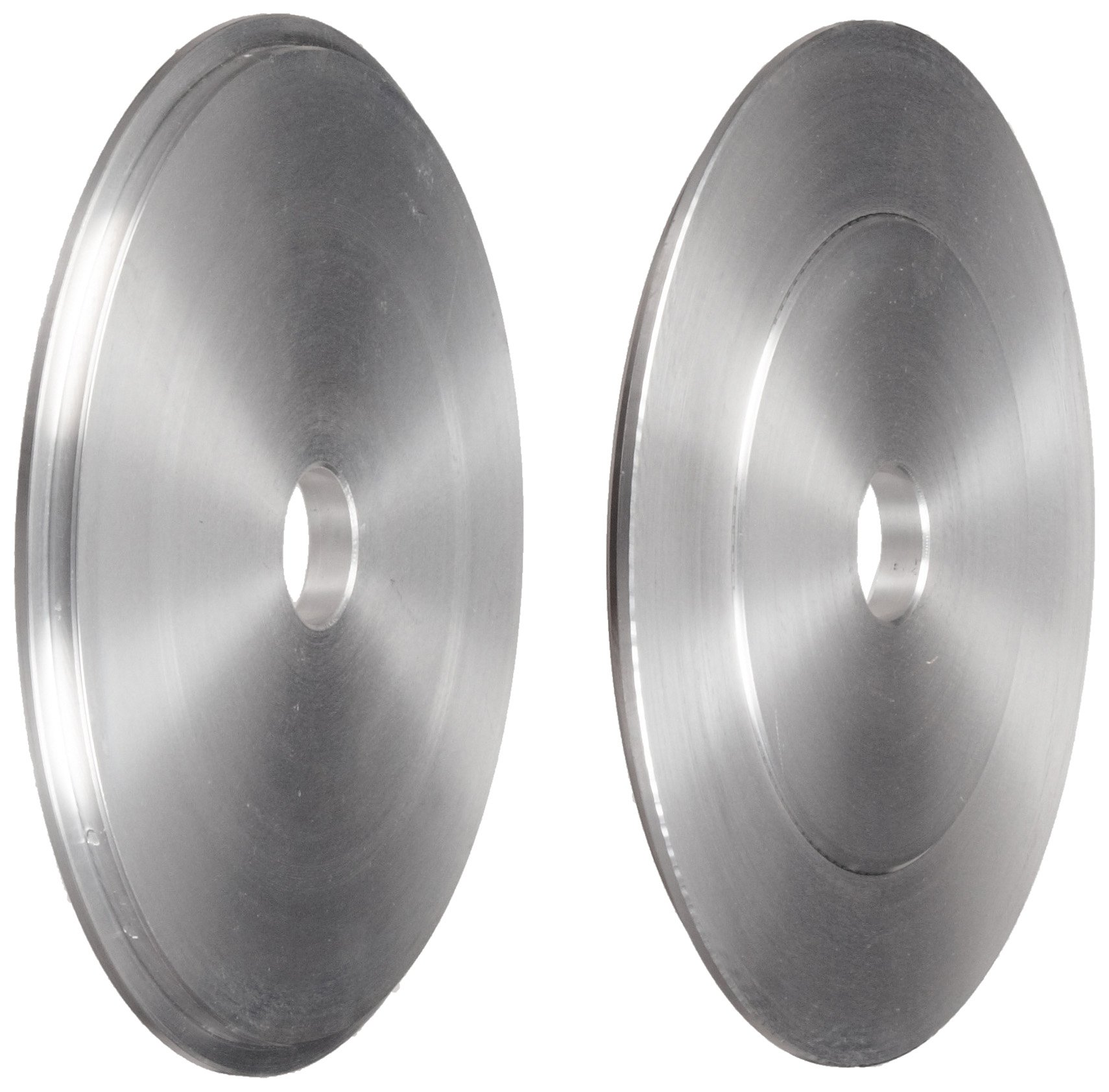 Norton Aluminum Reducing Bushing for 14'' Abrasive Flap and Convolute Wheel, 8'' Arbor (Pack of 1)
