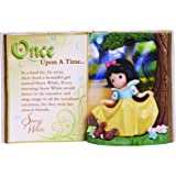 Precious Moments Disney Showcase Collection, Storybook Snow White, Resin Figurine, 134406