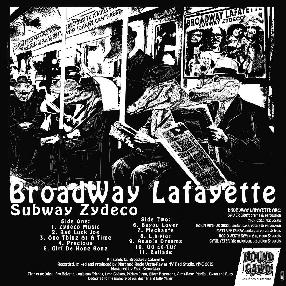"""Résultat de recherche d'images pour """"broadway lafayette subway zydeco cd"""""""