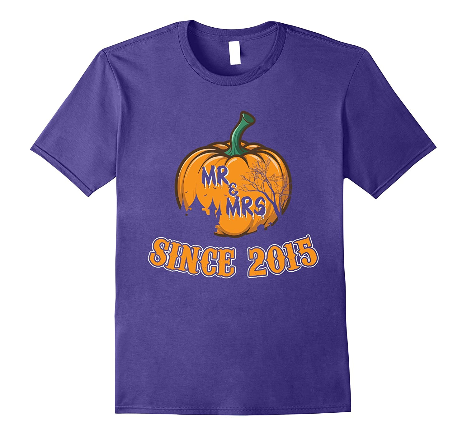 2nd Wedding Anniversary Gifts. Halloween Shirt for Couple.-FL