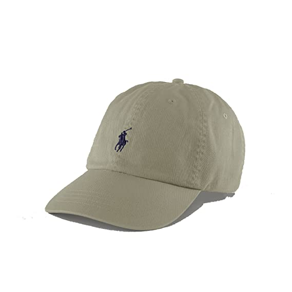 760c20be0f6e Ralph Lauren Polo Baseball Cap - Sand - One Size  Amazon.co.uk  Clothing