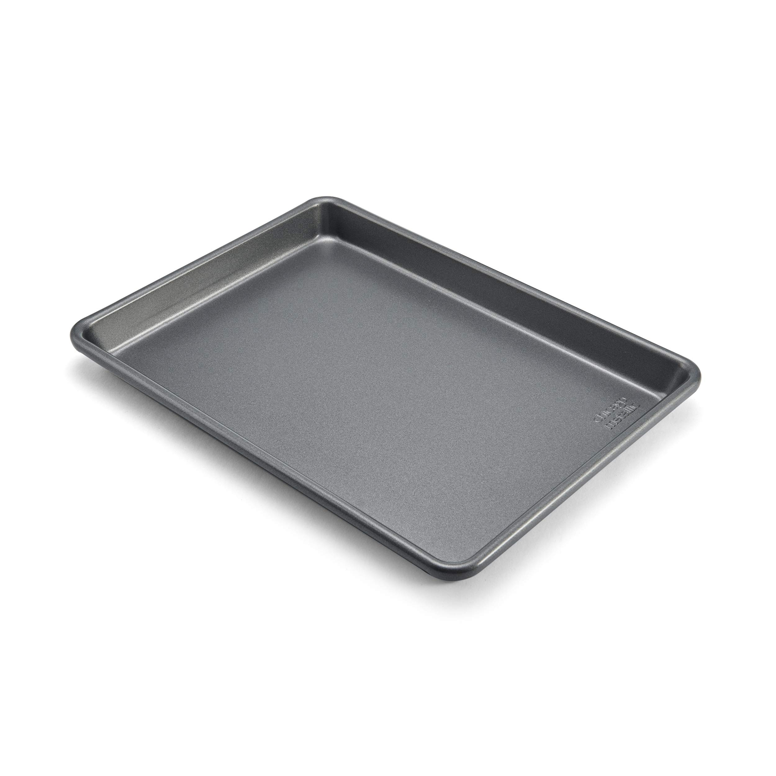 Chicago Metallic Commercial II Non-Stick Small Jelly Roll Pan, 13 by 9.5-Inch by Chicago Metallic (Image #1)
