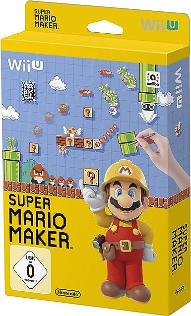 Super Mario Maker - Artbook Edition - [Wii U] [Importación alemana]: Amazon.es: Videojuegos