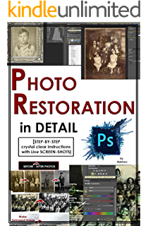 Amazon photoshop colorizing the professional way colorize or photoshop photo restoration in detail with adobe photoshop cc photo recovery repairing old fandeluxe Choice Image