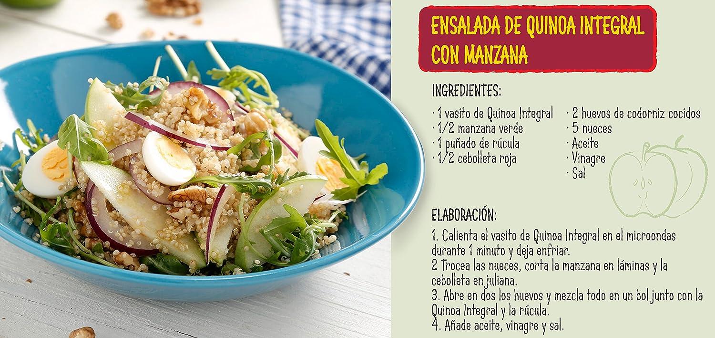Quinoa Integral. 2 x 125 gr: Amazon.es: Alimentación y bebidas