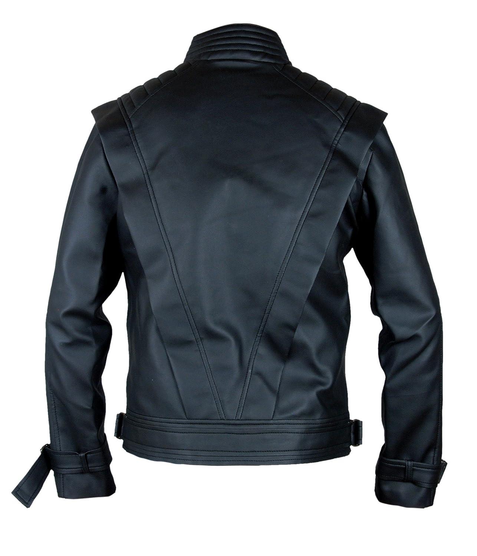 F/&H Kids Michael Jackson Thriller Genuine Leather Black Jacket