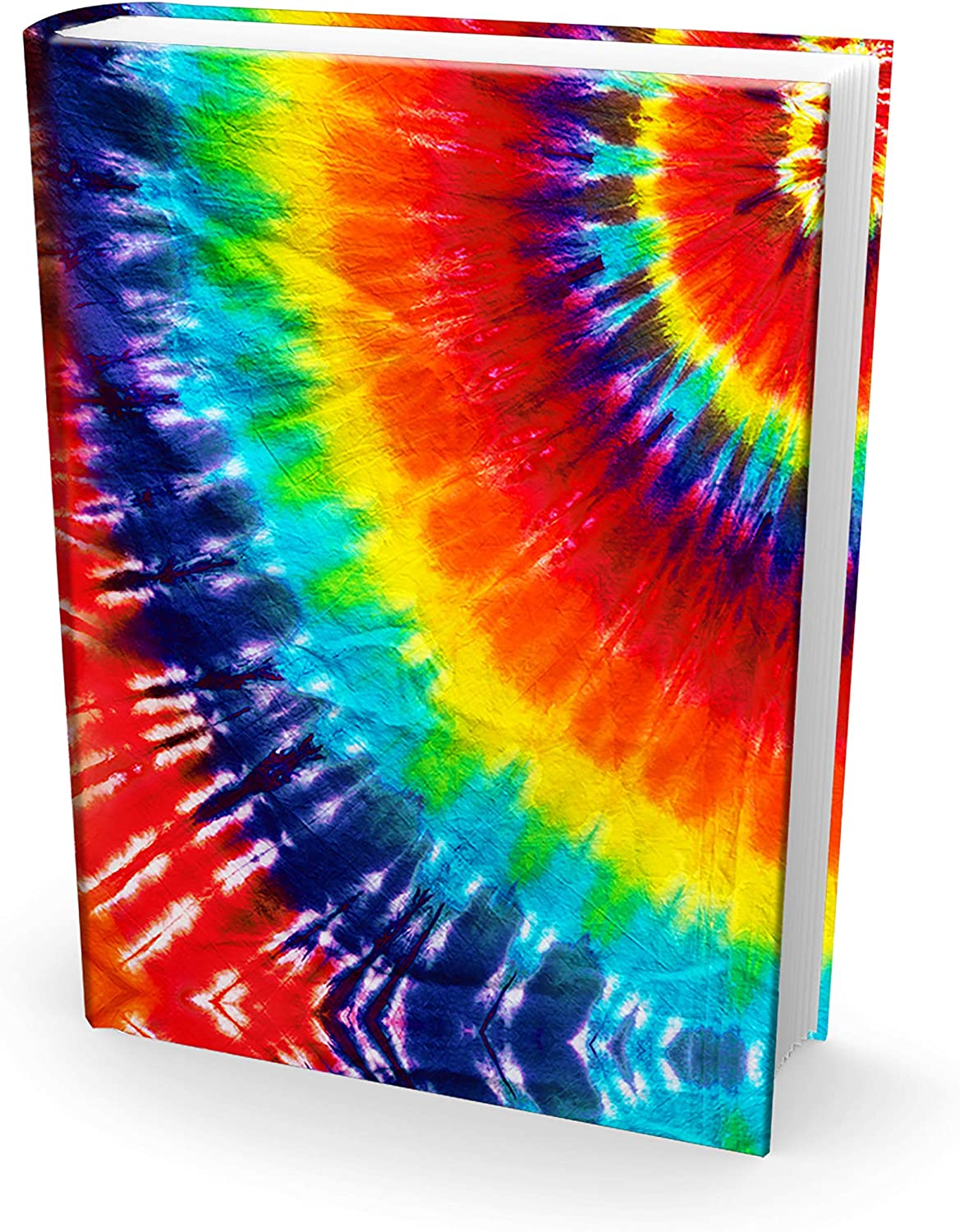 Perfect Fun Reusable Book Covers 6 Pk Easy Apply Washable Designs for Girls Best 8x10 Textbook Jackets for Back to School Kids and Teens Boys Stretchable to Fit Most Medium Hardcover Books