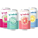 Spindrift Seltzer Water Variety Pack, 12 Fl. Oz Cans (Pack of 24)